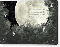 The Forest Fairies Acrylic Print