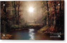 Sunrise Forest  Acrylic Print