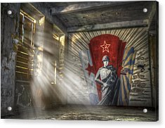The Forgotten Soldier Acrylic Print by Nathan Wright