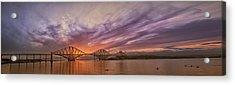 The Forth Rail Bridge Acrylic Print