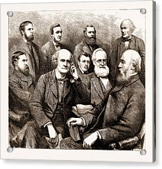The Forthcoming Meeting Of The British Association, 1883 Acrylic Print