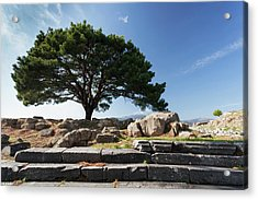 The Foundation Of The Great Altar Acrylic Print by Reynold Mainse