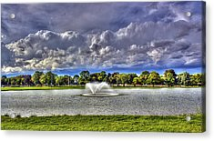 The Fountain Acrylic Print by Tim Buisman