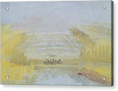 The Fountains At Versailles Acrylic Print by Joseph Mallord William Turner