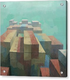 The Four Corners Acrylic Print
