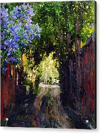 The Fragrant Passage Acrylic Print by Steven Boone