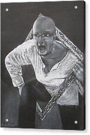The Frame Acrylic Print by Art Nomad Sandra  Hansen