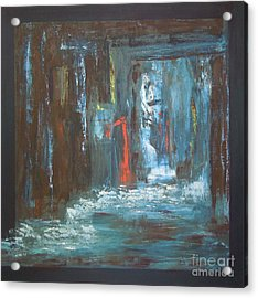 Acrylic Print featuring the painting The Free Passage by Mini Arora