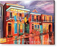 The Frenchmen Hotel New Orleans Acrylic Print by Diane Millsap