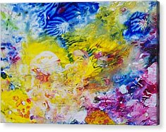 The Frequency Of Joy Acrylic Print
