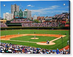 The Friendly Confines Acrylic Print by James Kirkikis