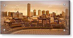 The Friendly Confines Acrylic Print by Toni Abdnour