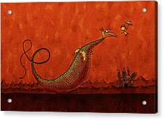 The Friendly Dragon Acrylic Print