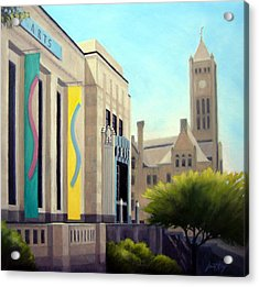 The Frist Center Acrylic Print