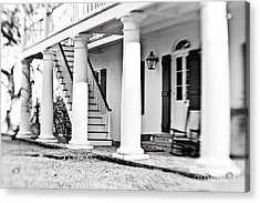 The Front Porch Acrylic Print by Scott Pellegrin