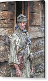 The Frontiersman Acrylic Print by Randy Steele