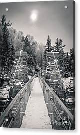 Acrylic Print featuring the photograph The Frost Across by Mark David Zahn Photography