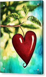 The Fruit Of The Spirit Acrylic Print by April Moen