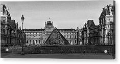 The Full Louvre Denise Dube Acrylic Print
