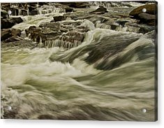 The Furry Of The River..... Acrylic Print