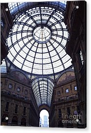 The Galleria Milan Italy Acrylic Print
