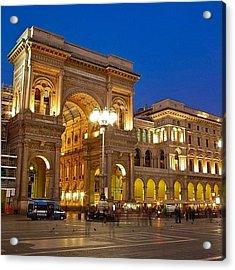 The Galleria Vittorio Emanuele II Is Acrylic Print
