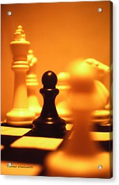 The Games We Play Acrylic Print by Thomas Woolworth
