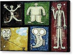The Gang Of Five Acrylic Print