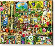 The Garden Cupboard Acrylic Print by Colin Thompson
