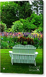 The Garden  Acrylic Print by Mindy Bench