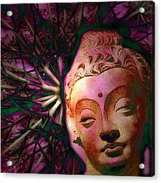 The Garden Of Buddha Acrylic Print by Martine Jacobs