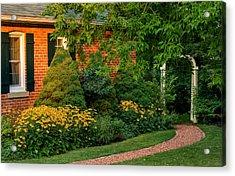 The Garden Path Acrylic Print by Steve Harrington