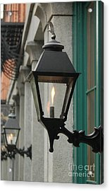 The Gas Light Acrylic Print