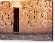 The Gate Acrylic Print by Joe Kozlowski