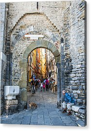 The Gate To Old Town Acrylic Print