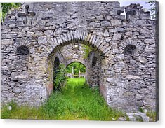 The Gate To The Ruins Acrylic Print