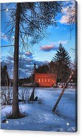The Gatehouse Acrylic Print by Joann Vitali
