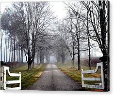 The Gates Are Always Open Acrylic Print by Nina-Rosa Duddy