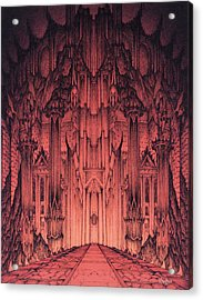 The Gates Of Barad Dur Acrylic Print by Curtiss Shaffer