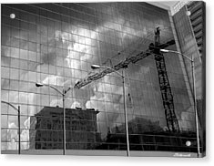 The Gathering Storm Acrylic Print by Larry Butterworth