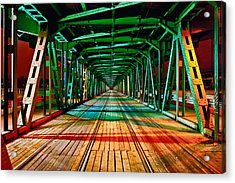 The Gdanski Bridge Acrylic Print