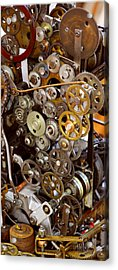 The Gears Of Life Acrylic Print