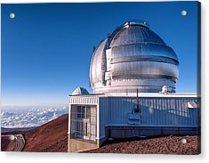 Acrylic Print featuring the photograph The Gemini Observatory by Jim Thompson