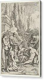 The Genius Of Salvator Rosa Acrylic Print