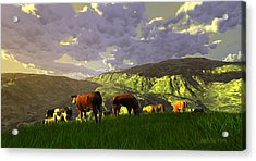 The Gentle Breed Acrylic Print