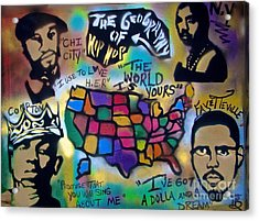 The Geography Of Hip Hop Acrylic Print
