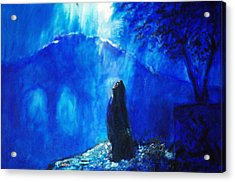 The Gethsemane Prayer Acrylic Print