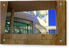 The Getty Acrylic Print