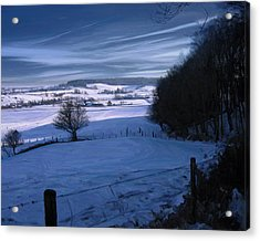 The Geul Valley Near Epen Acrylic Print by Nop Briex