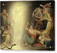 The Ghost Of Clytemnestra Awakening The Furies Signed Acrylic Print by Litz Collection